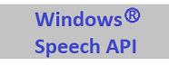 Get the Hear2Read Speech API for Windows here